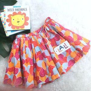 Lali Orange patter twirly skirt Size 2T